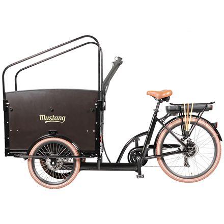 Mustang Family elladcykel med 7 gear - Sort | City-cykler