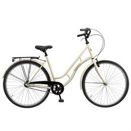 mustang Mustang marie damecykel med 3 gear - creme - Bestil cykler fra mustang på internettet ...