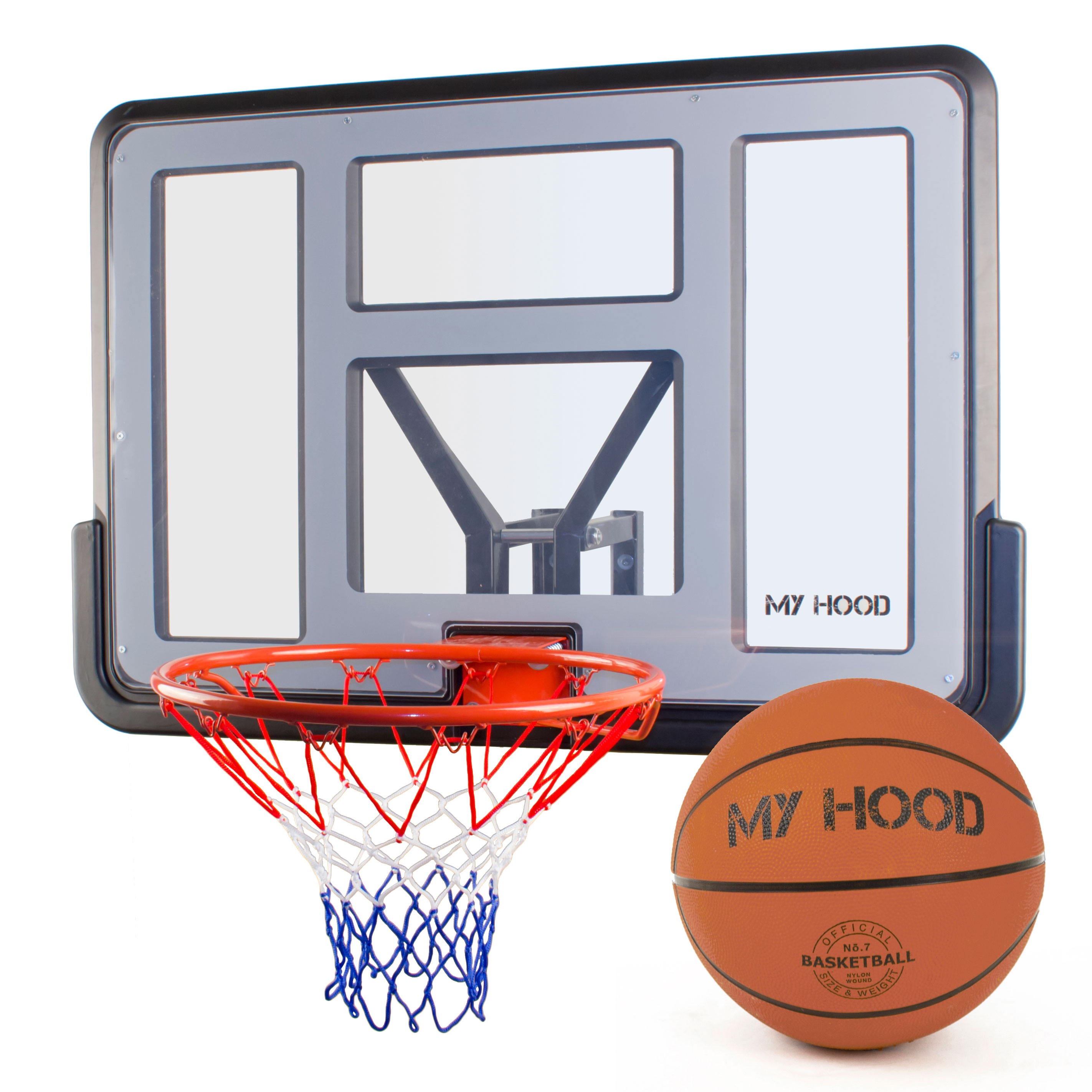 My Hood basketkurv på plade