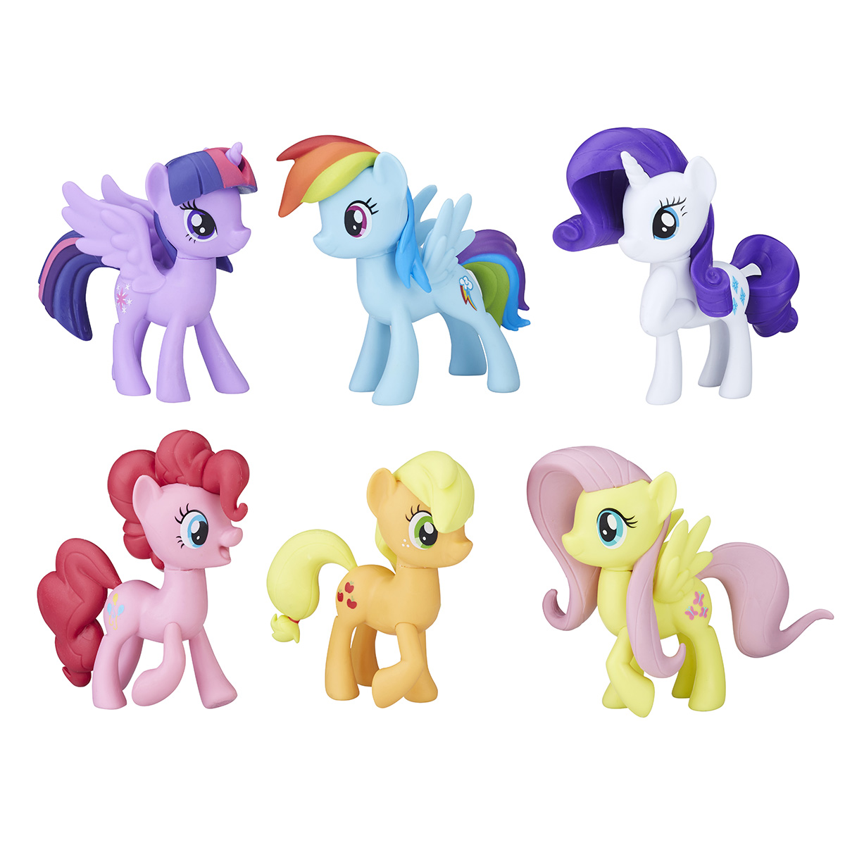 Image of   My Little Pony legesæt - 6 Ponies Collection