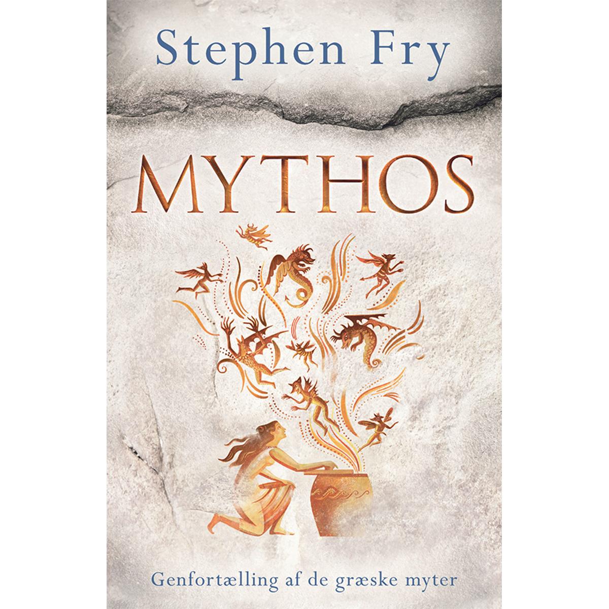 Image of   Mythos - Genfortælling af de græske myter - Indbundet