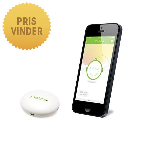 Nabby babyalarm - Nem og sikker brug med din smartphone eller tablet