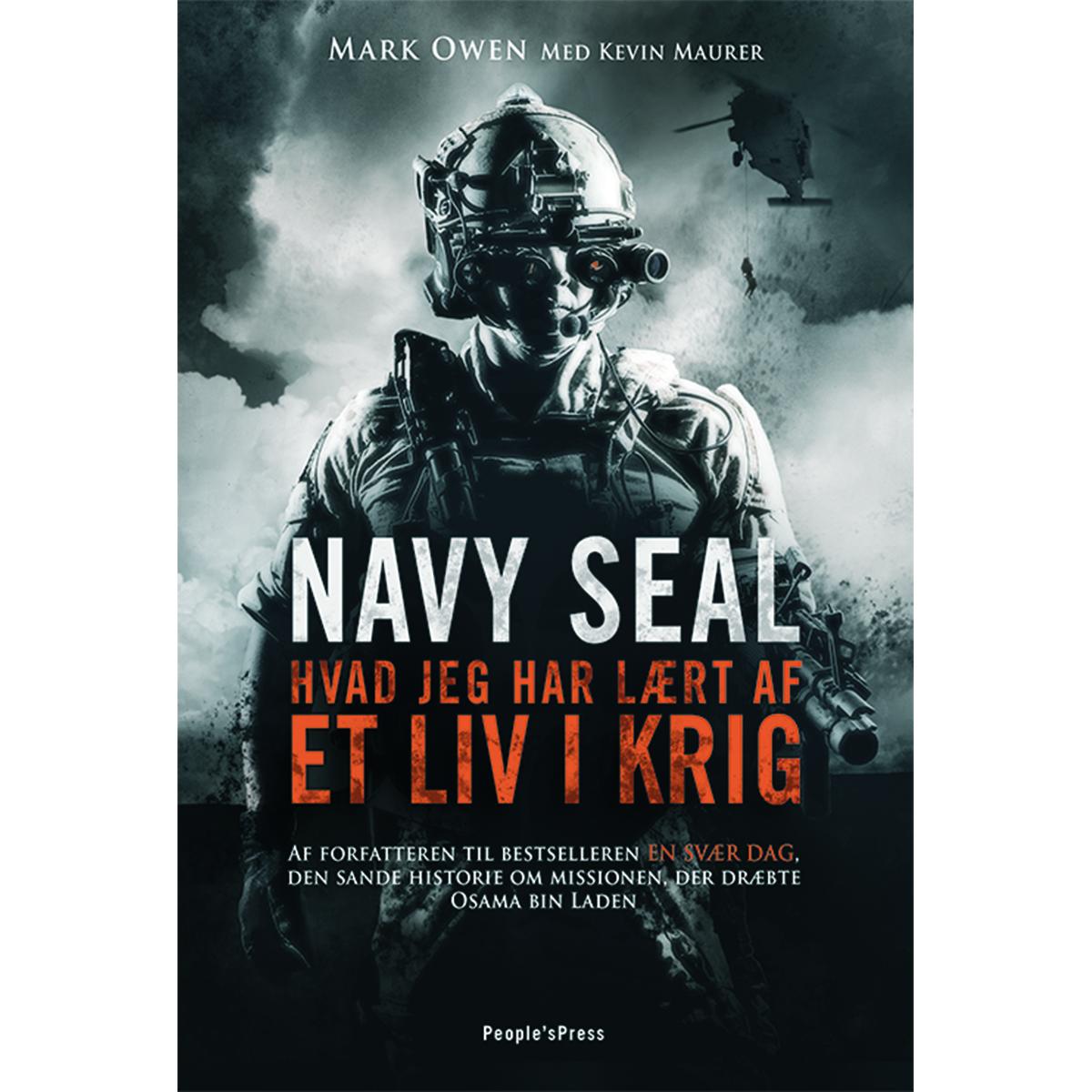 Navy Seal - hvad jeg har lært af et liv i krig - Hæftet