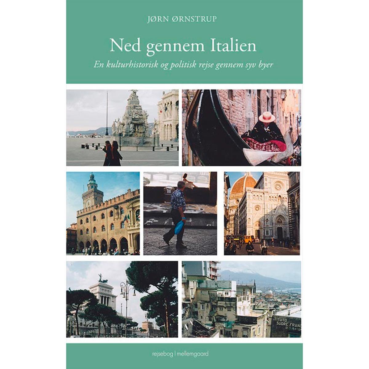 Image of   Ned gennem Italien - Hæftet