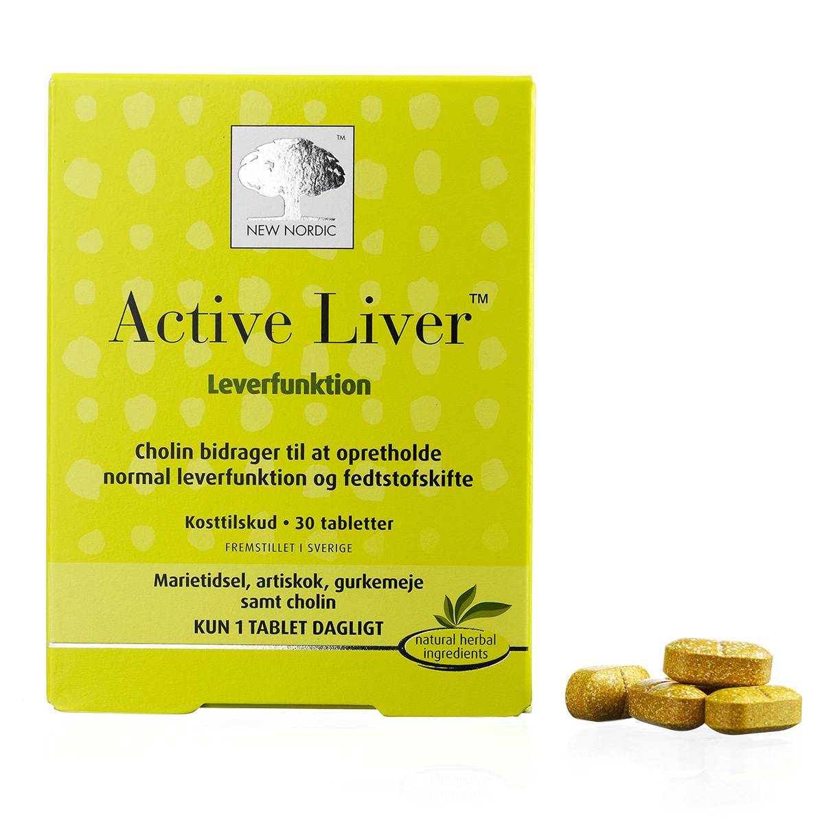 Image of   New Nordic Active Liver - 30 stk.