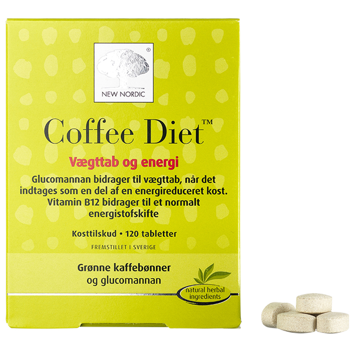 Image of   New Nordic Coffee Diet - 120 stk.
