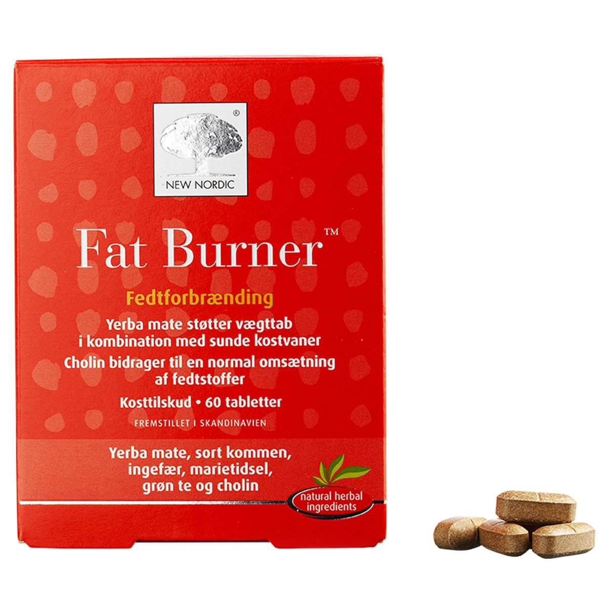 Billede af New Nordic Fat Burner - 60 stk.