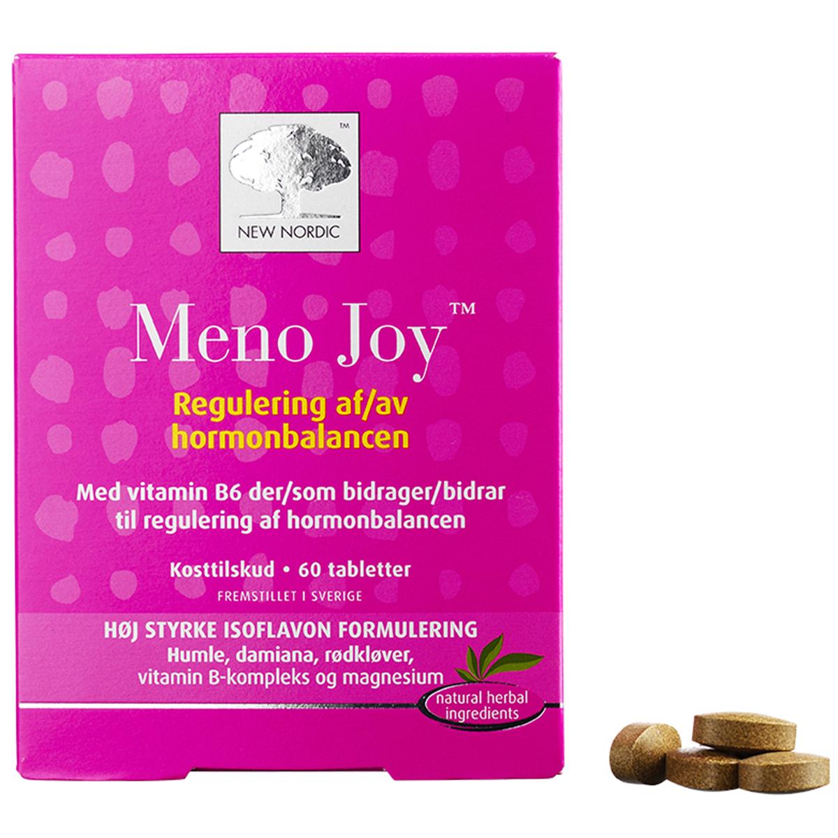 Image of   New Nordic Meno Joy - 60 stk.