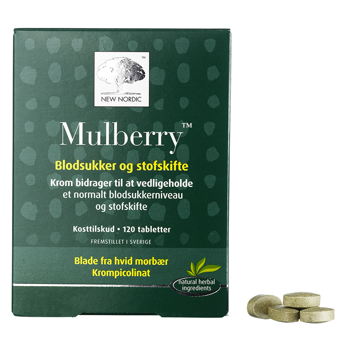 Image of   New Nordic Mulberry - 120 stk.