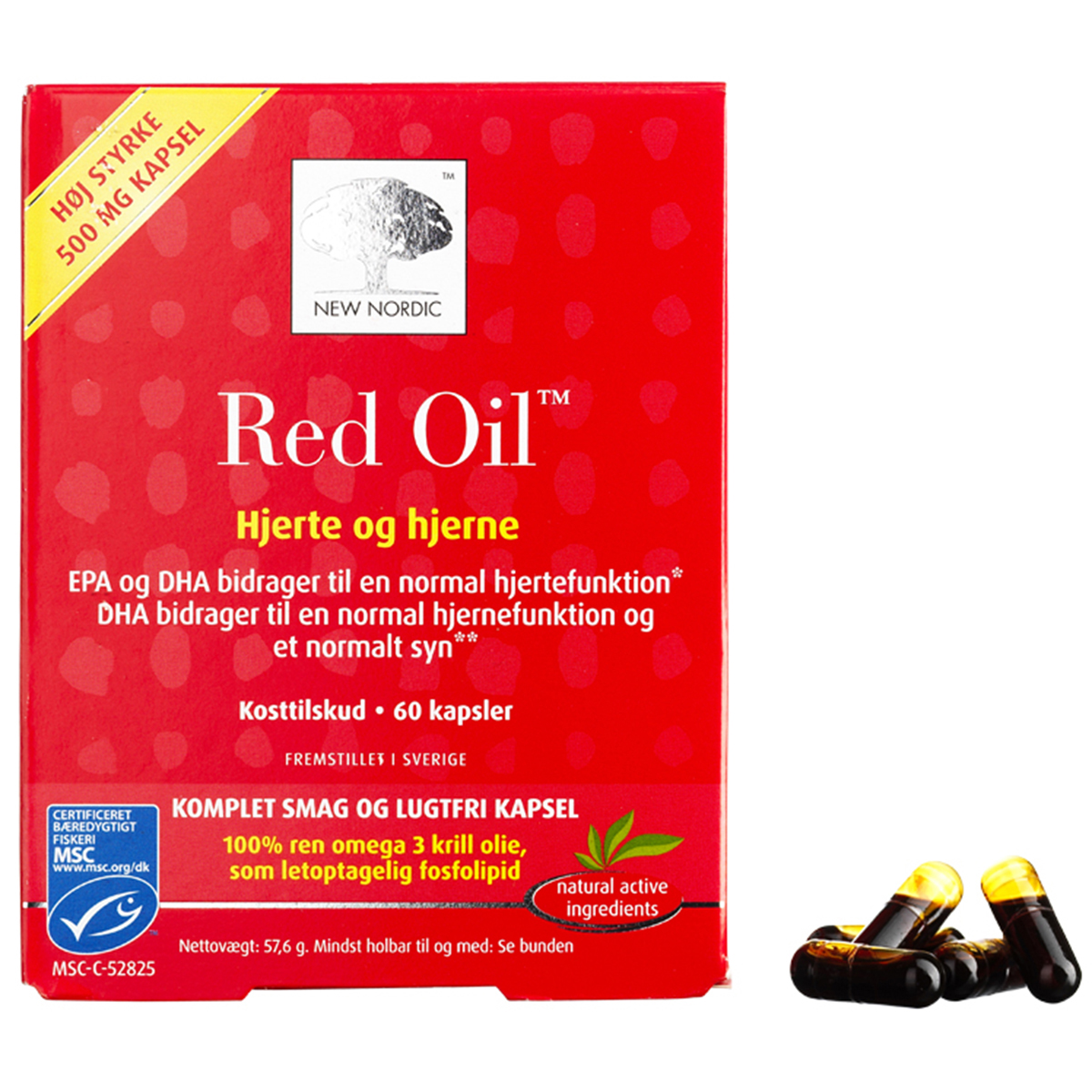 Image of   New Nordic Red Oil - 60 stk.