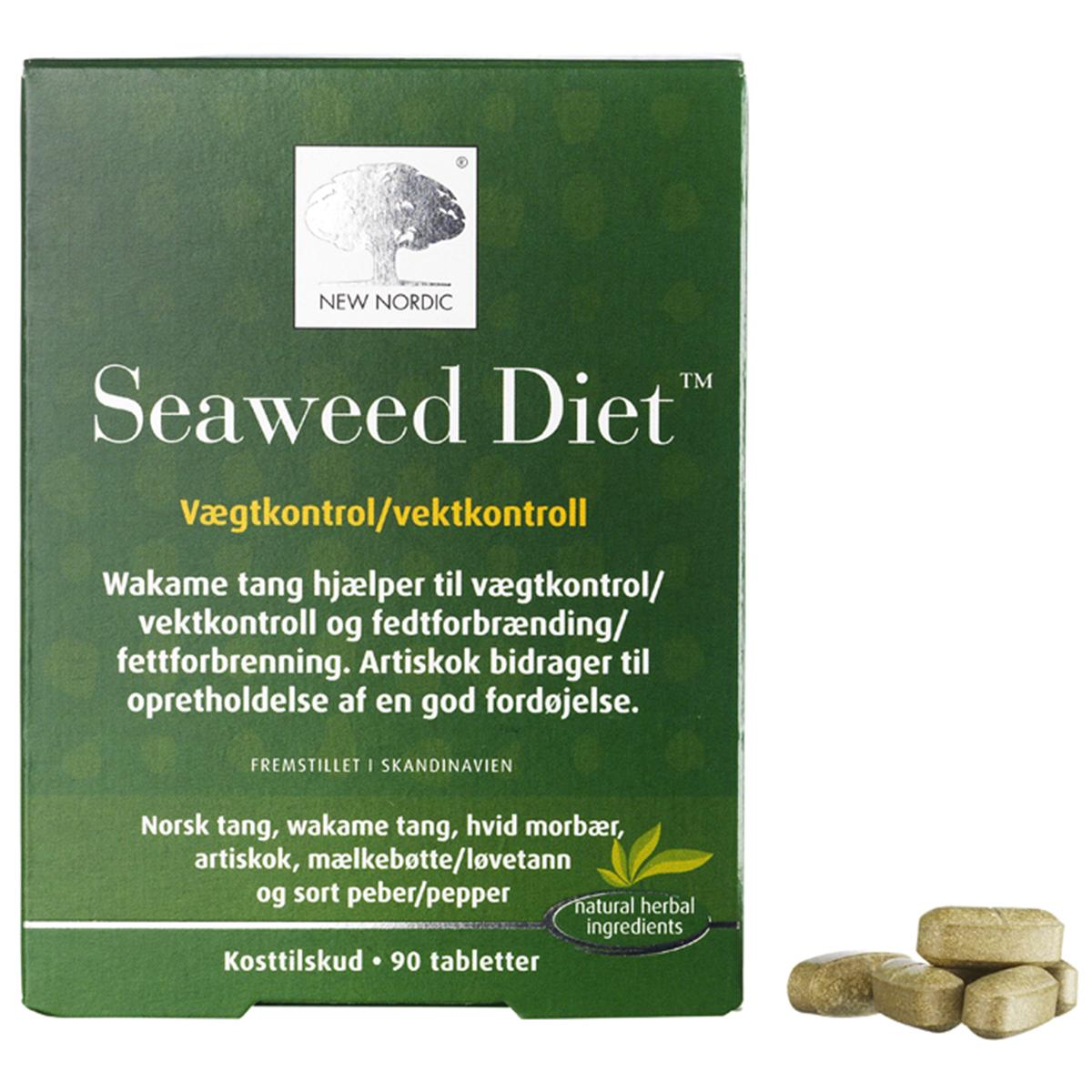 New Nordic Seaweed Diet - 90 stk.