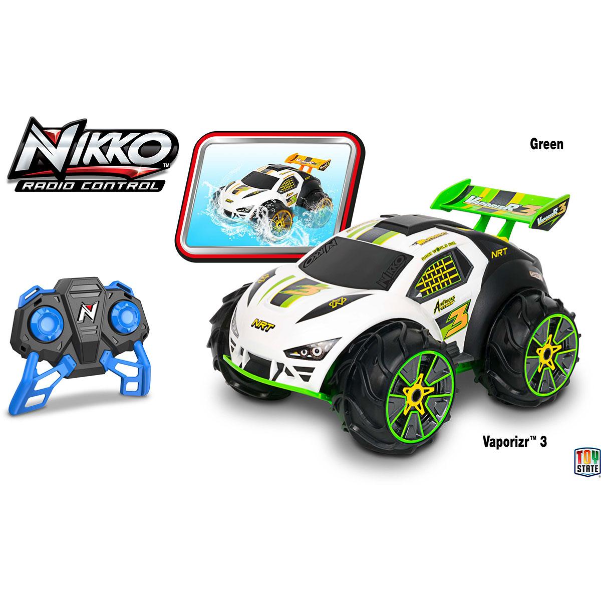 Image of   Nikko fjernstyret bil - Vaporizr - Grøn