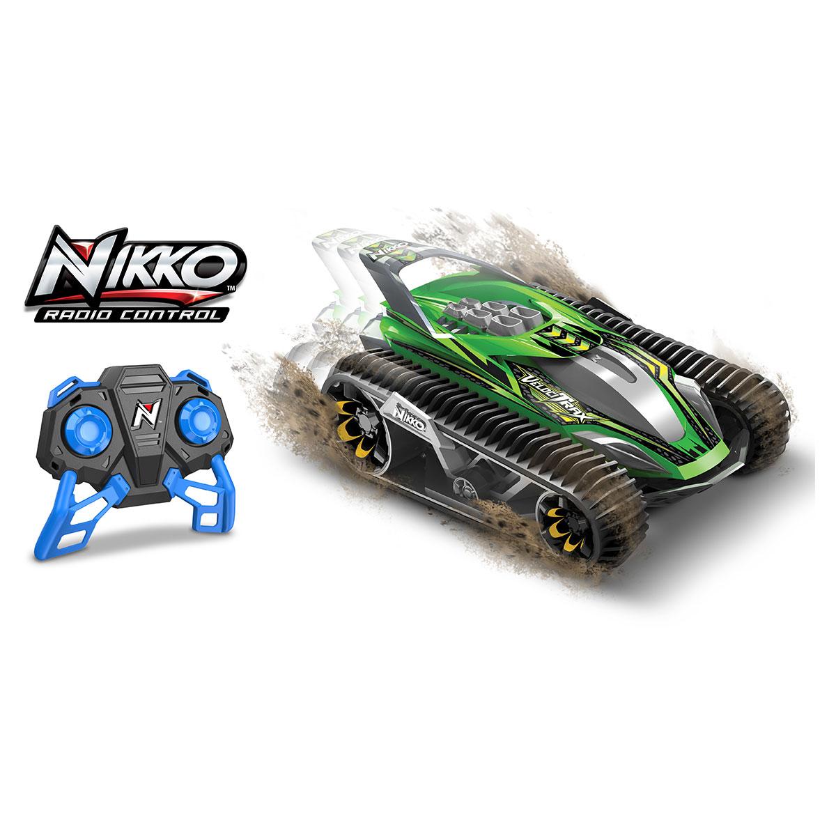Image of   Nikko fjernstyret bil - Veloci Trax - Grøn