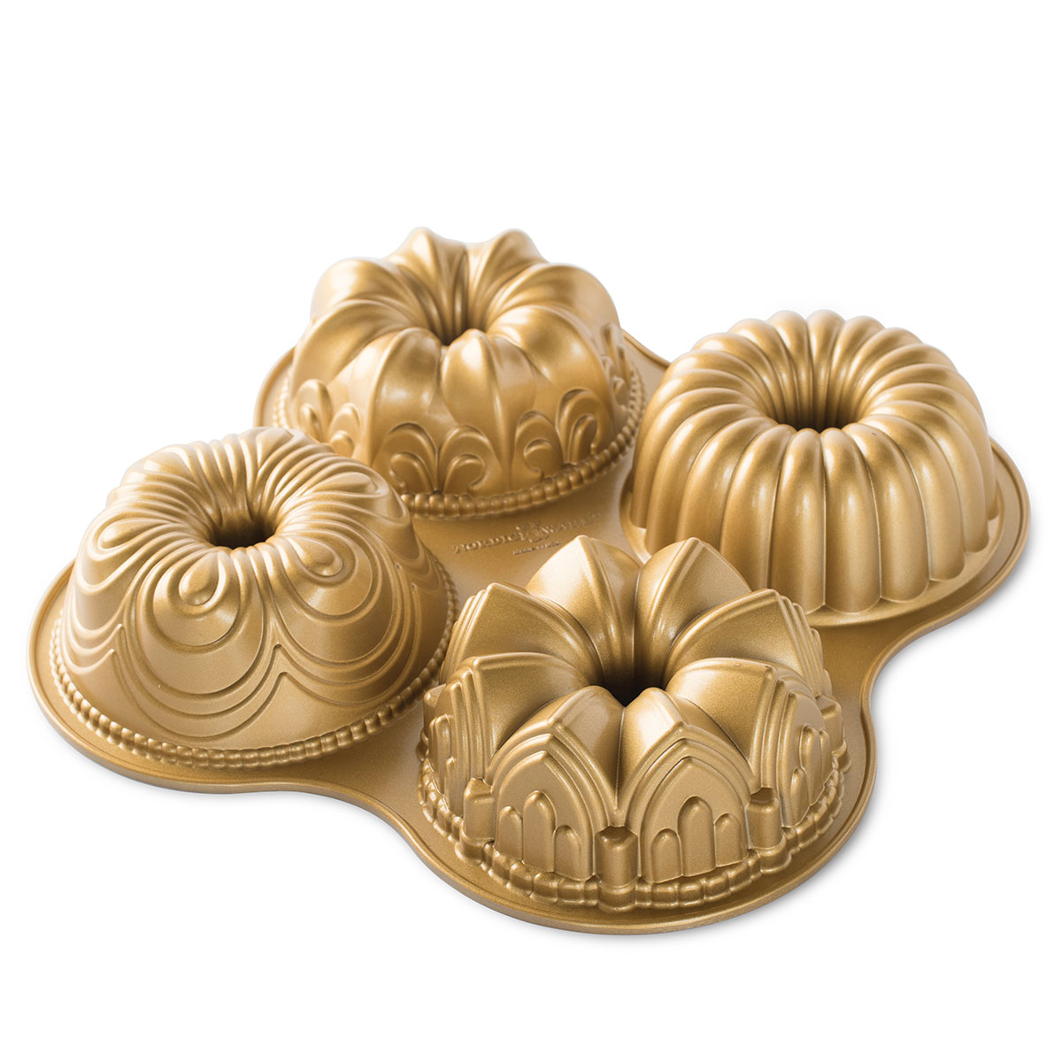 Image of   Nordic Ware bageform - Bundt Quartet