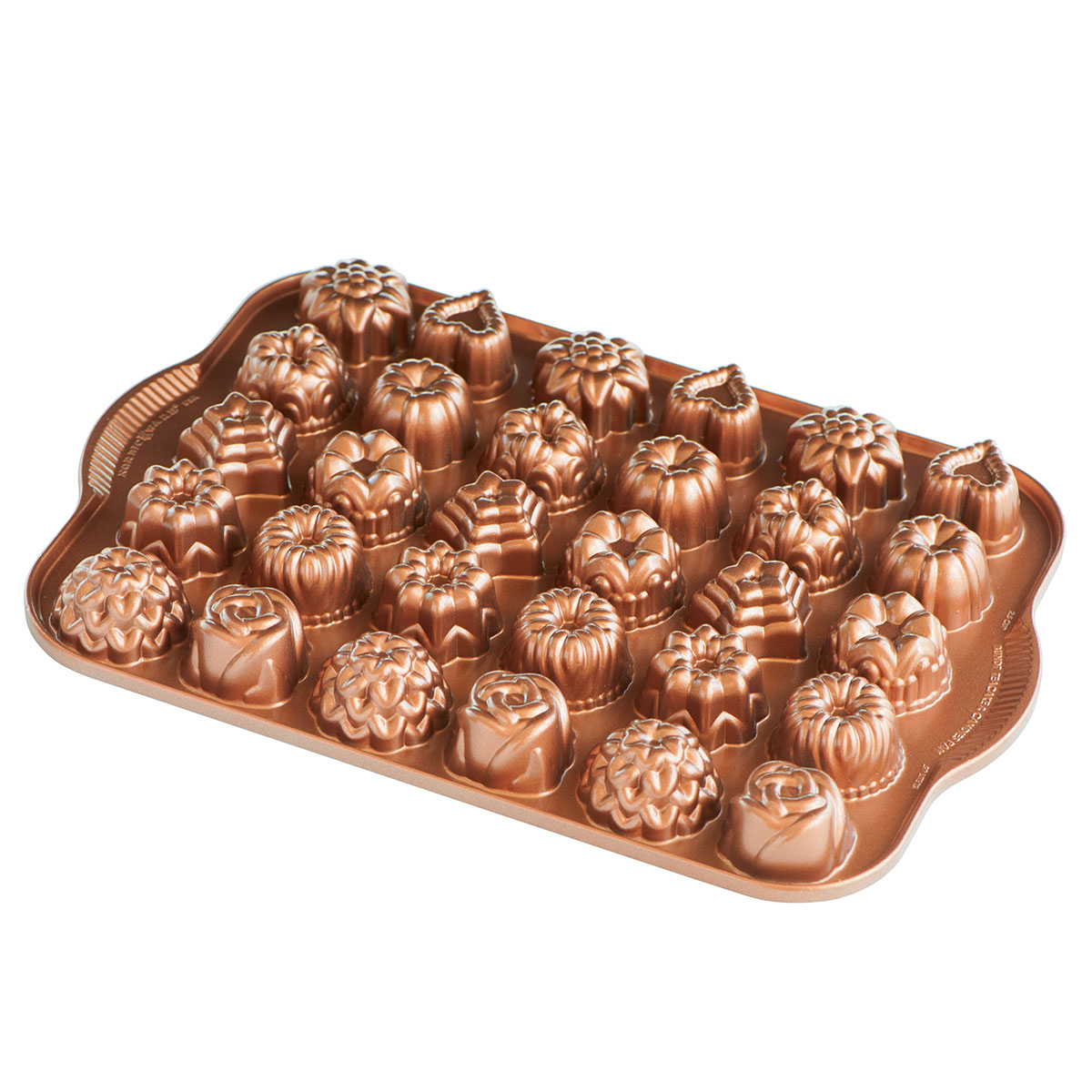 Image of   Nordic Ware bageform - Bundt Tea Cakes and Candies Pan