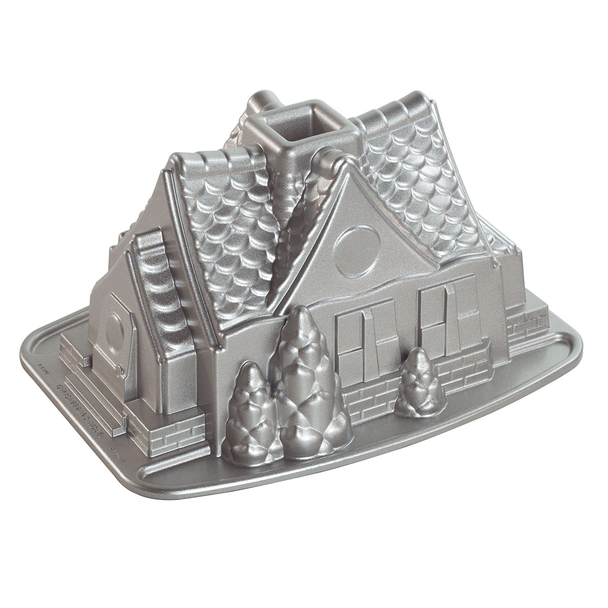 Image of   Nordic Ware bageform - Gingerbread House Bundt Pan