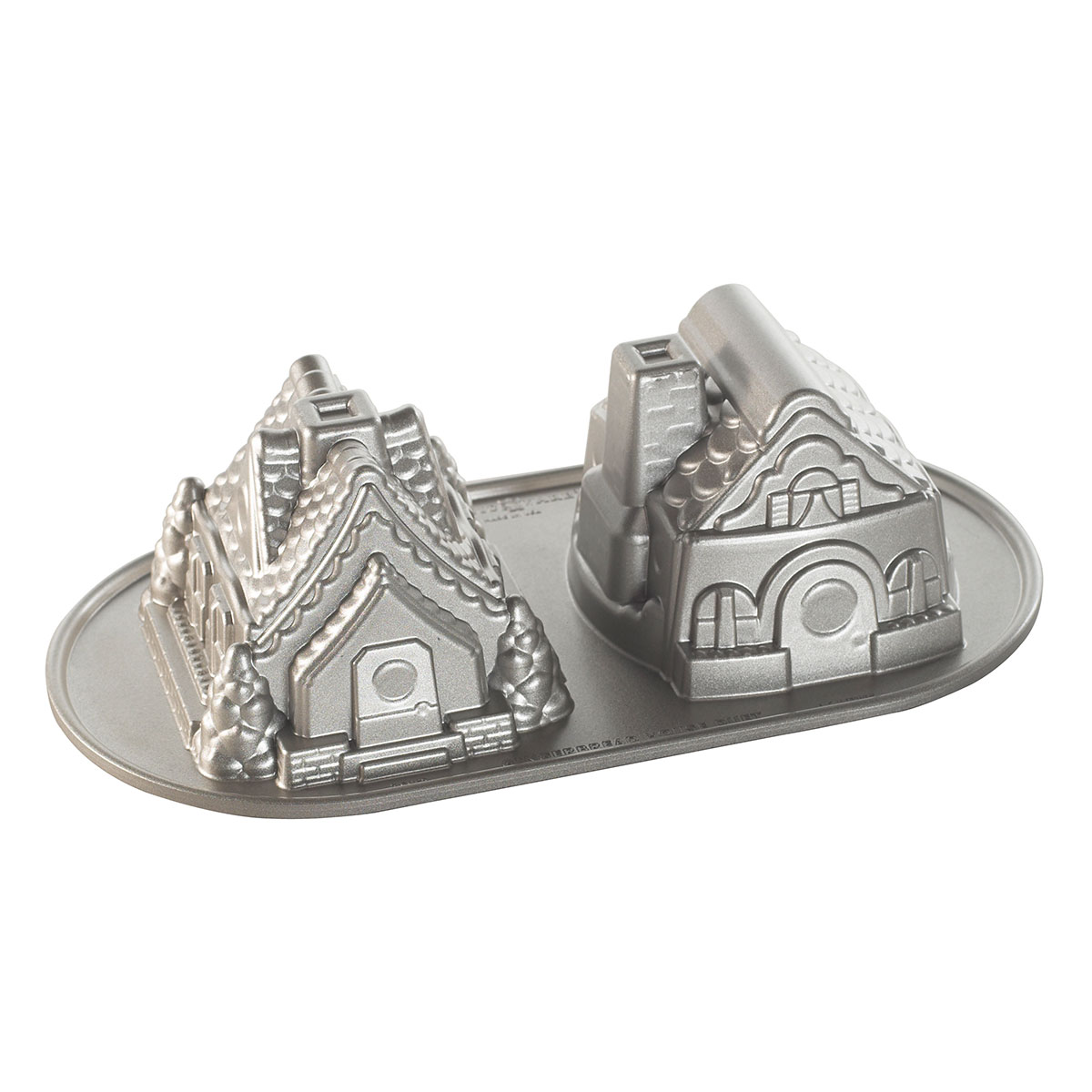 Image of   Nordic Ware bageform - Gingerbread House Duet Pan