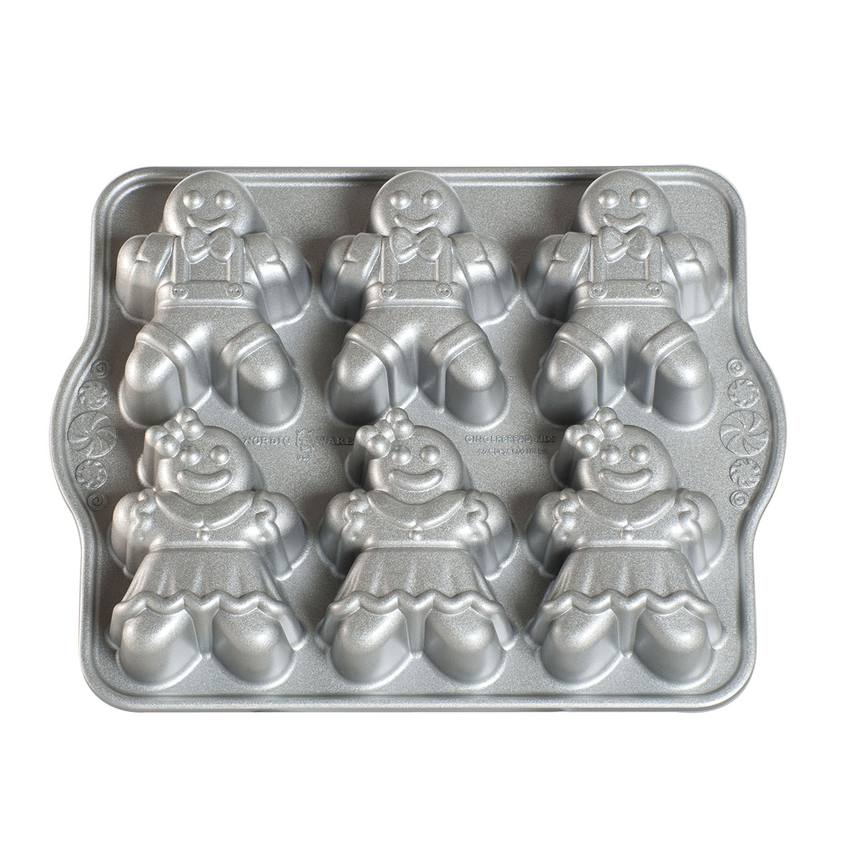 Image of   Nordic Ware bageform - Gingerbread Kids Cakelet