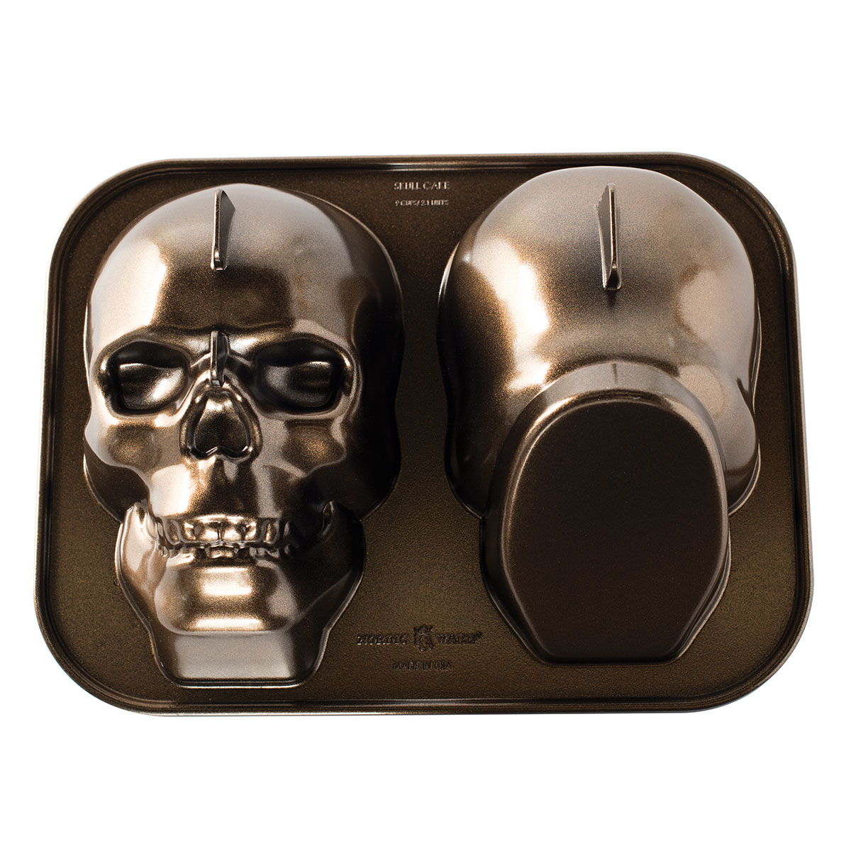 Image of   Nordic Ware bageform - Haunted Skull Cake Pan