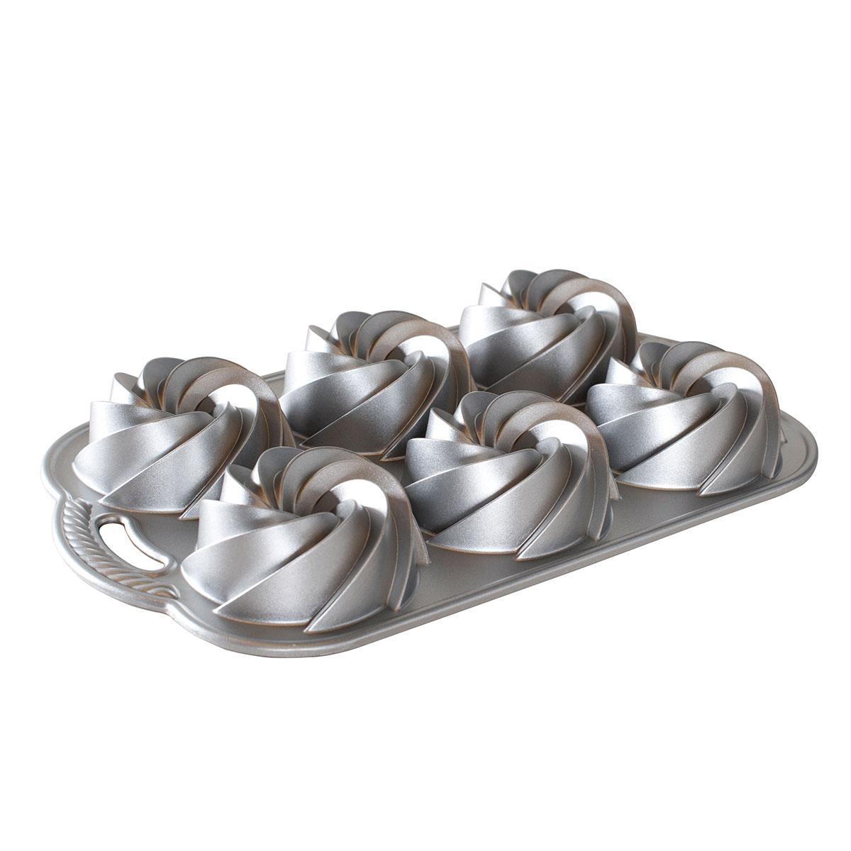 Image of   Nordic Ware bageform - Heritage Bundtlette Cakes