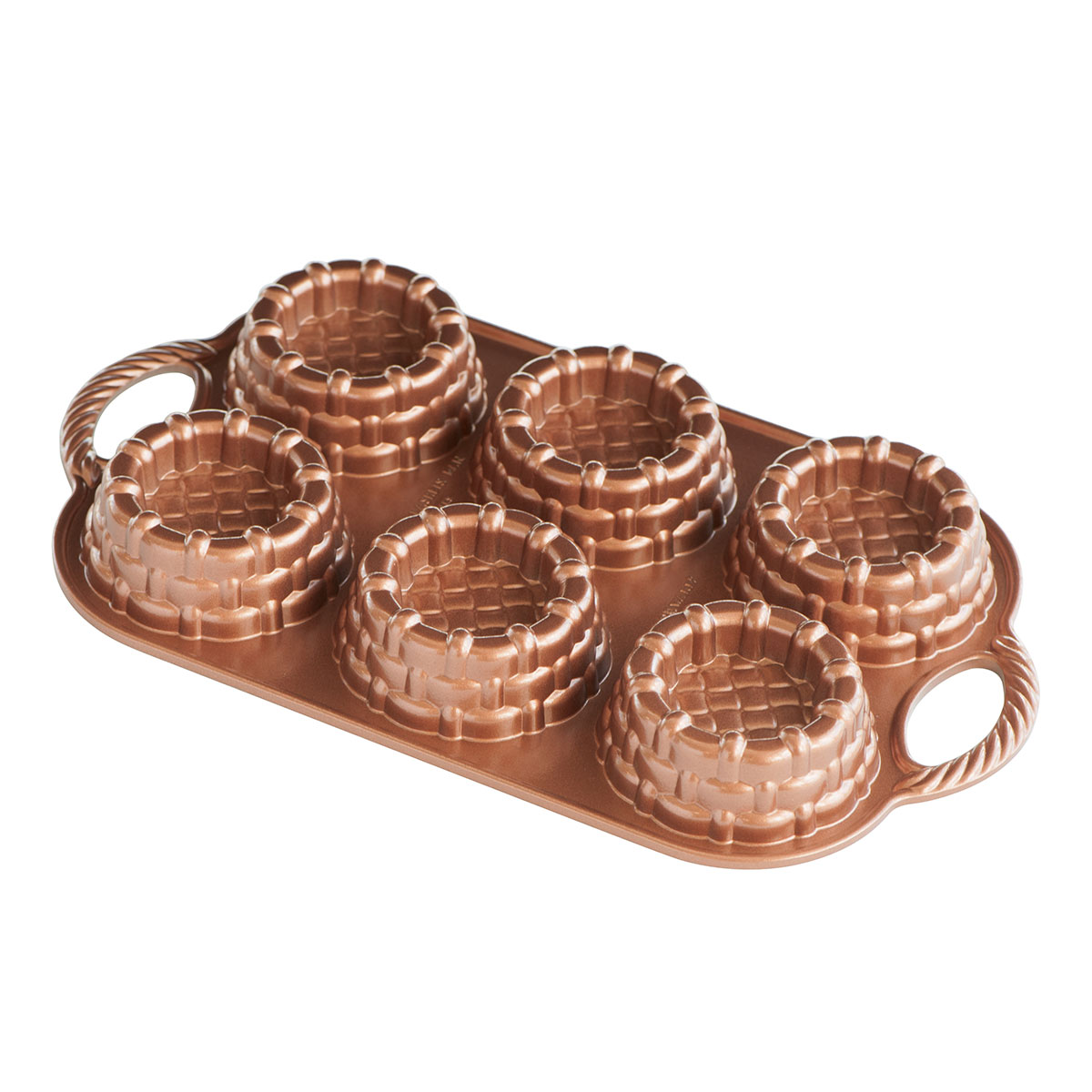 Image of   Nordic Ware bageform - Shortcake Baskets Pan