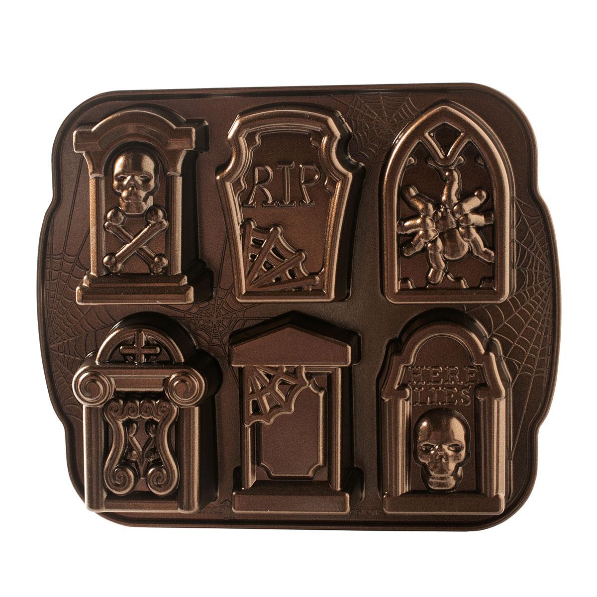 Image of   Nordic Ware bageform - Tombstone Cakelet Pan
