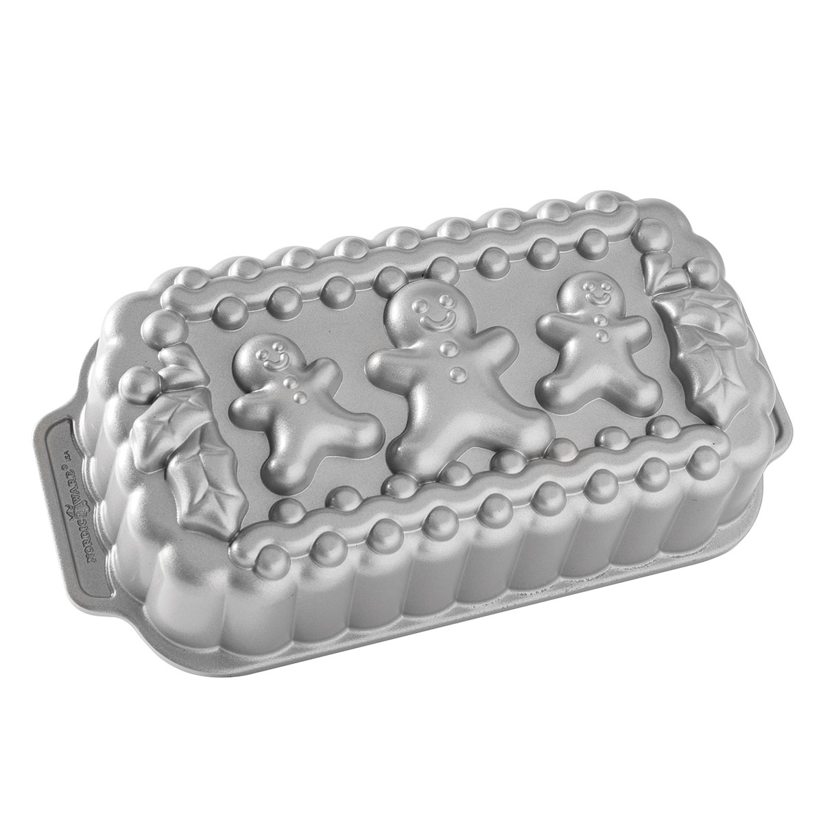Image of   Nordic Ware brødform - Gingerbread Family Loaf Pan