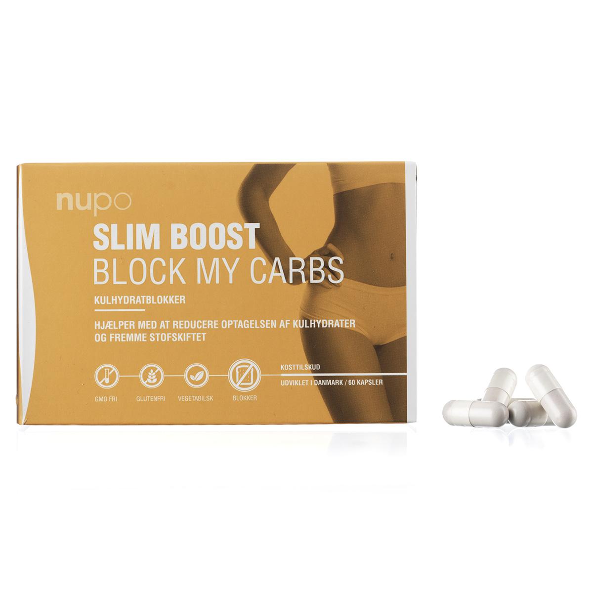 Image of   Nupo Slim Boost Block My Carbs - 60 stk.