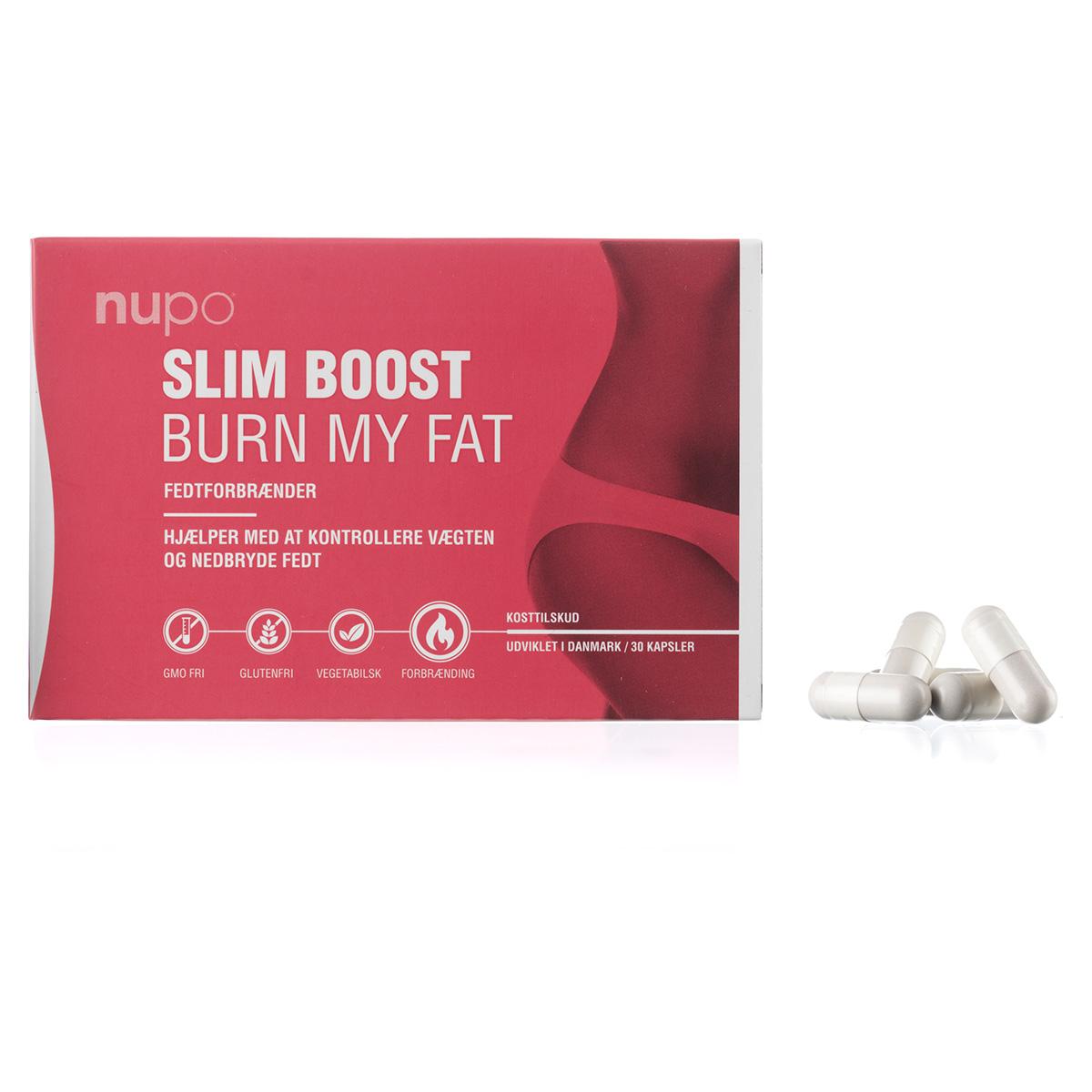 Image of   Nupo Slim Boost Burn My Fat - 30 stk.
