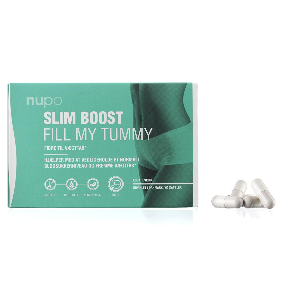 Image of   Nupo Slim Boost Fill My Tummy - 60 stk.