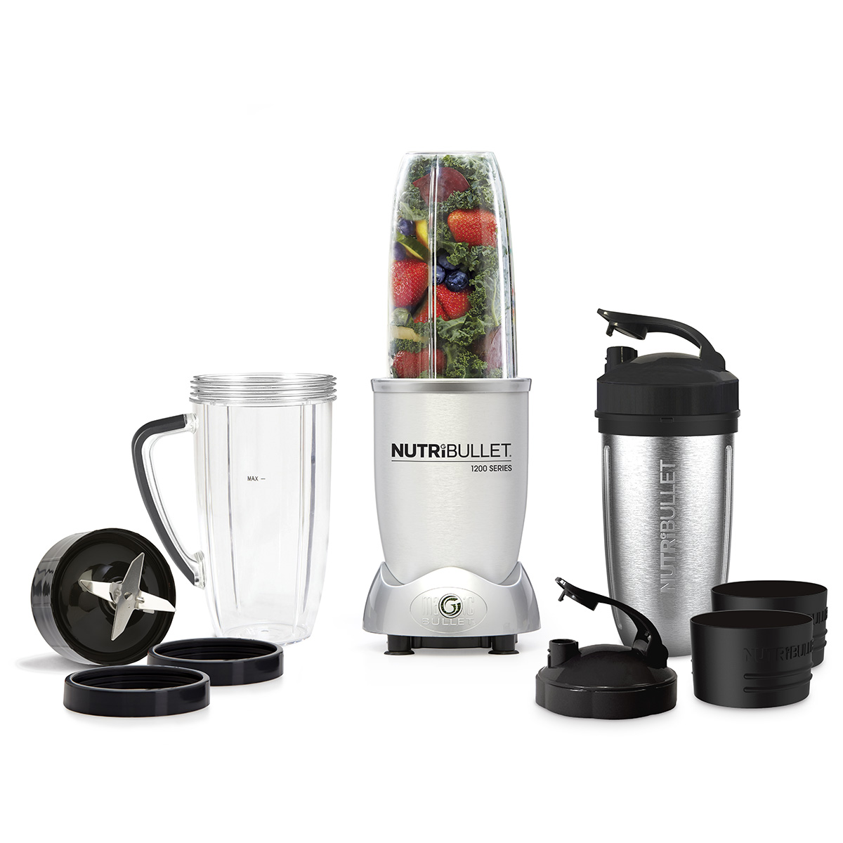 Image of   NutriBullet blender - 1200 - Silver