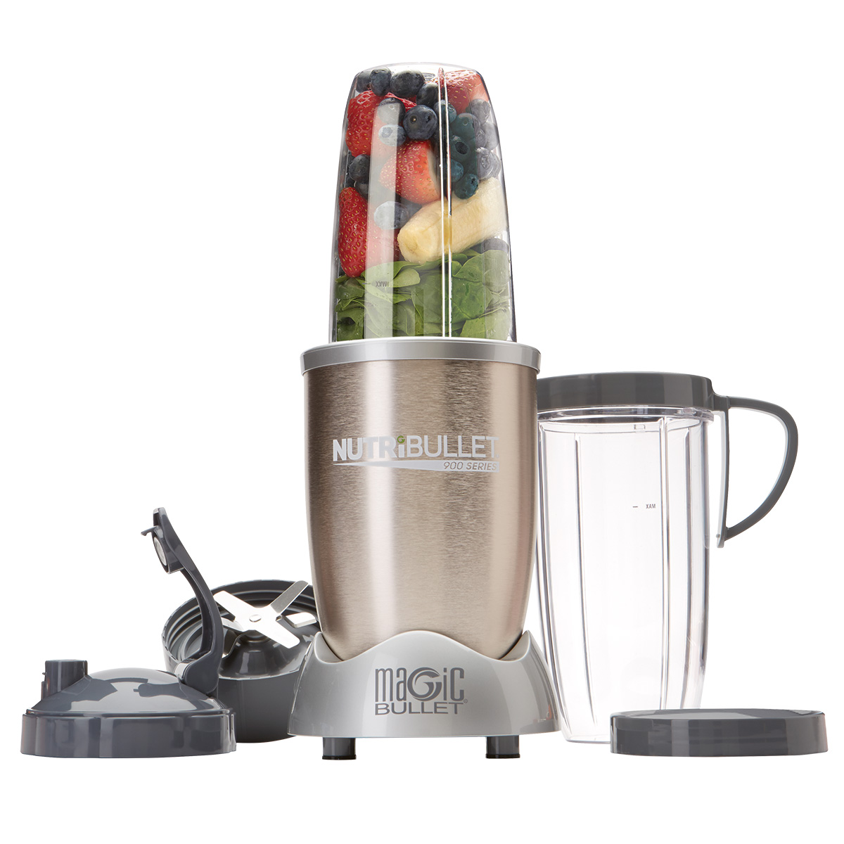 Image of   NutriBullet blender - 900 Pro - Champagne