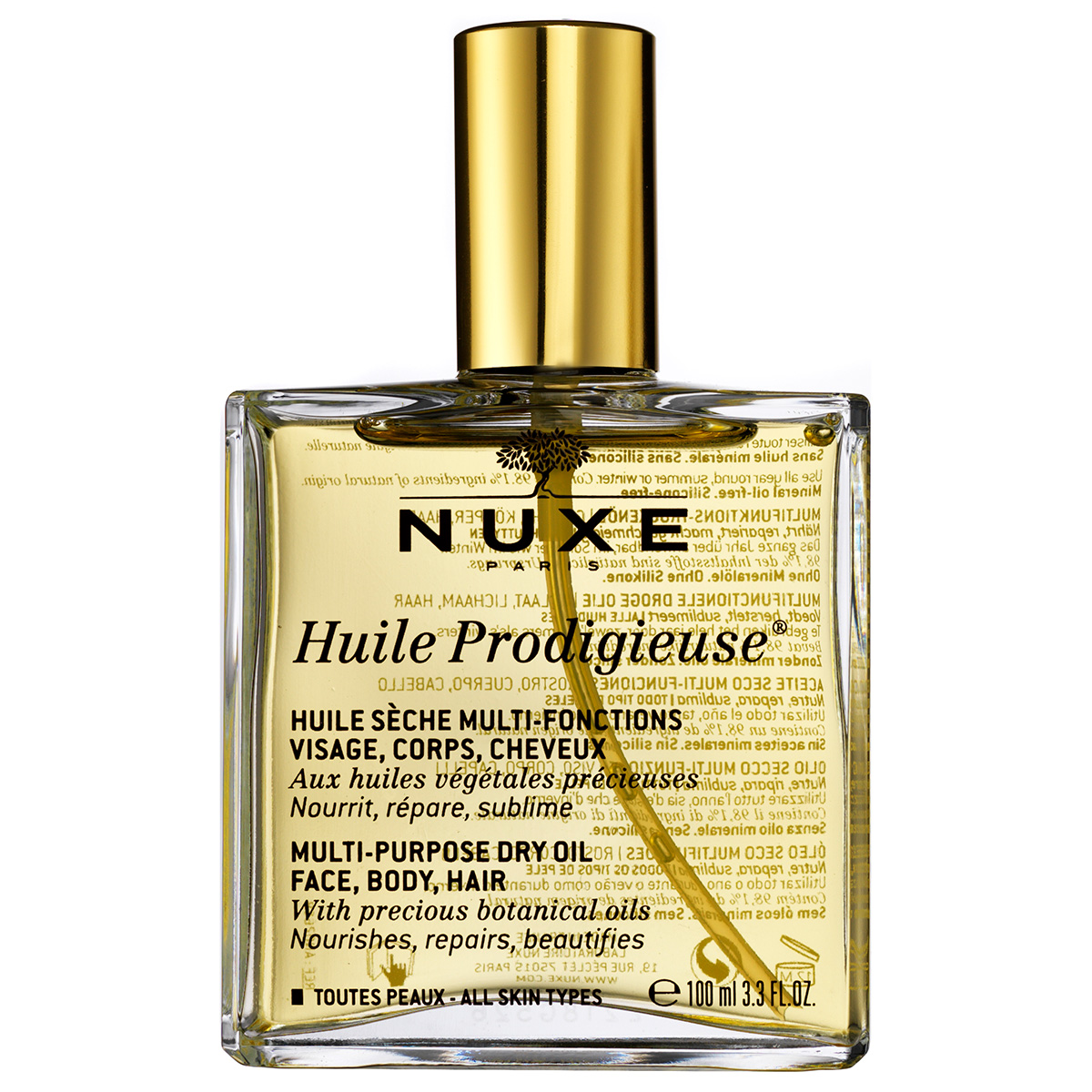 Nuxe Huile Prodigieuse Multi-Purpose Dry Oil - 100 ml