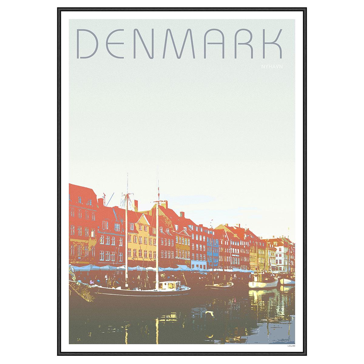 Image of   Nyhavn plakat - GraphINC