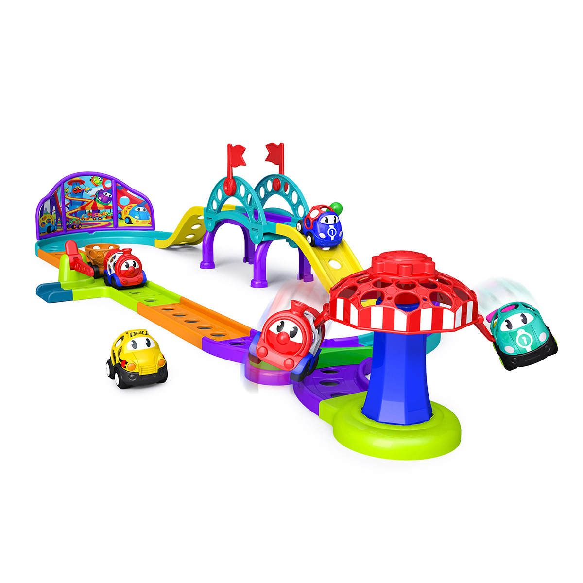Image of   Oball bilbane - Go Grippers Amusement Park Playset