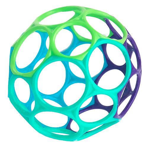 Image of   Oball motorikbold - Classic Ball - Blå/grøn/turkis/lilla
