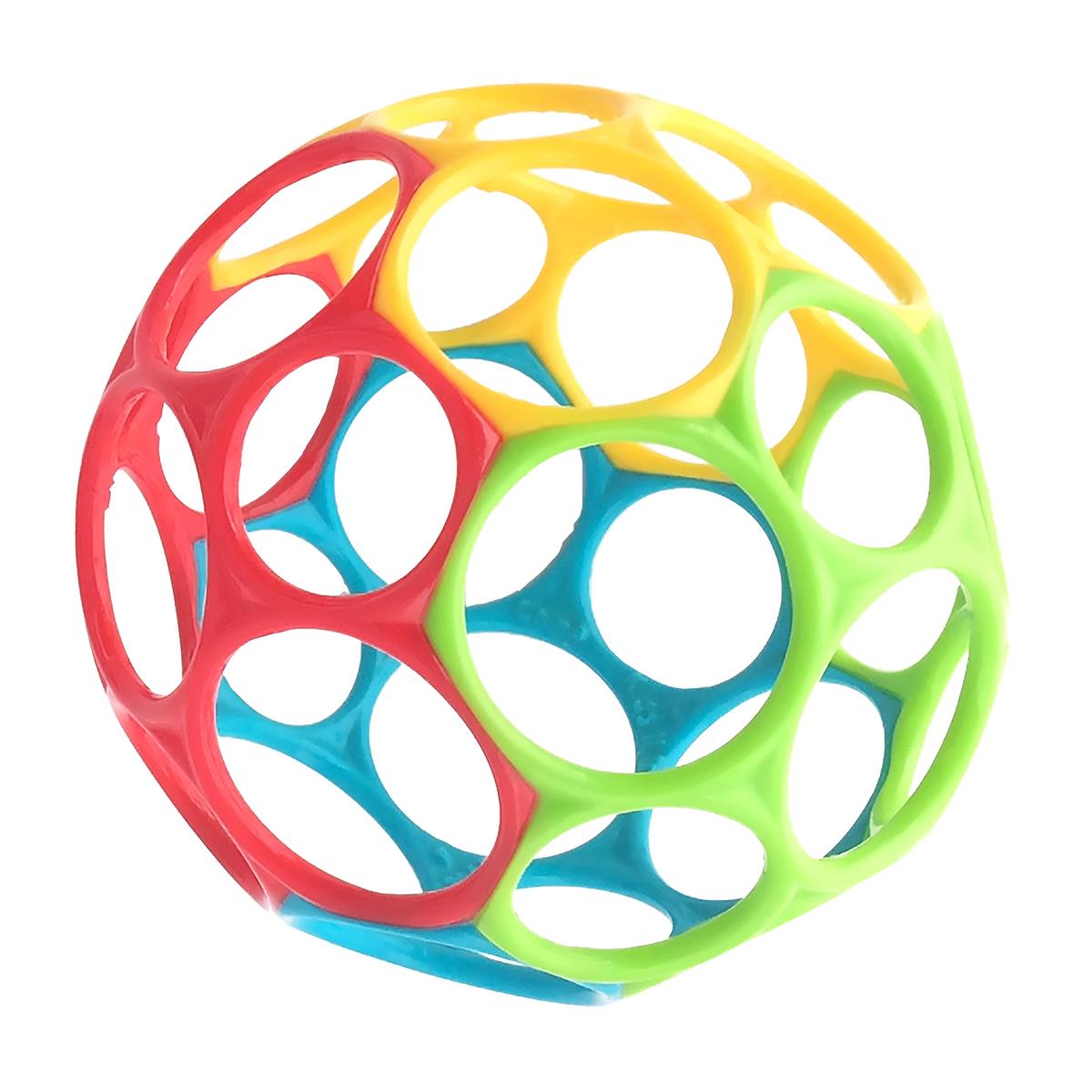 Image of   Oball motorikbold - Classic Ball - Rød/gul/grøn/blå