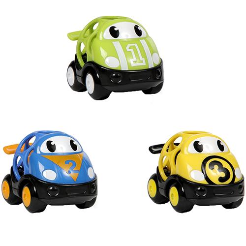Billede af Oball racerbiler - Go Grippers Car Set - Race Cars