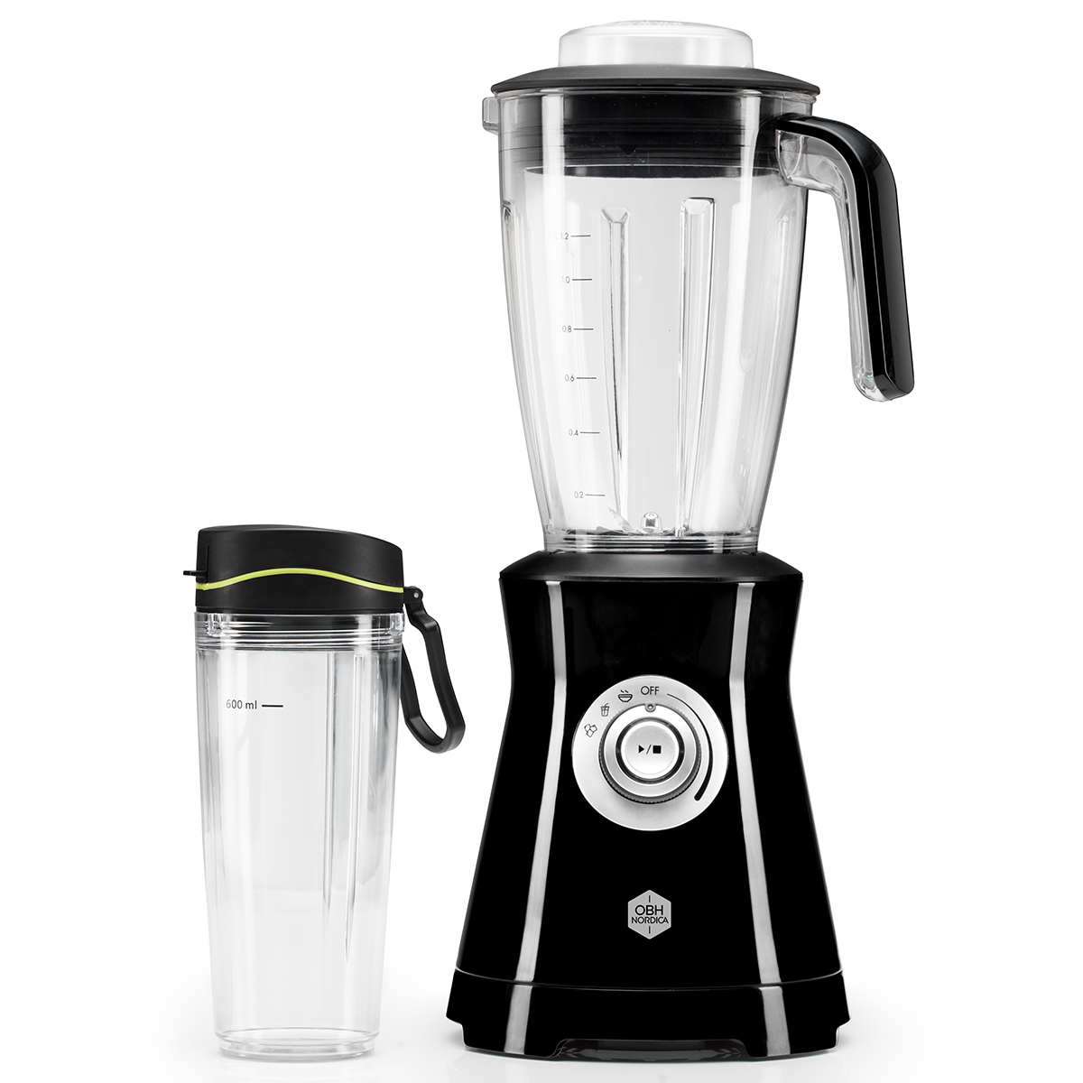 Image of   OBH Nordica blender - Ultimate Compact - Sort