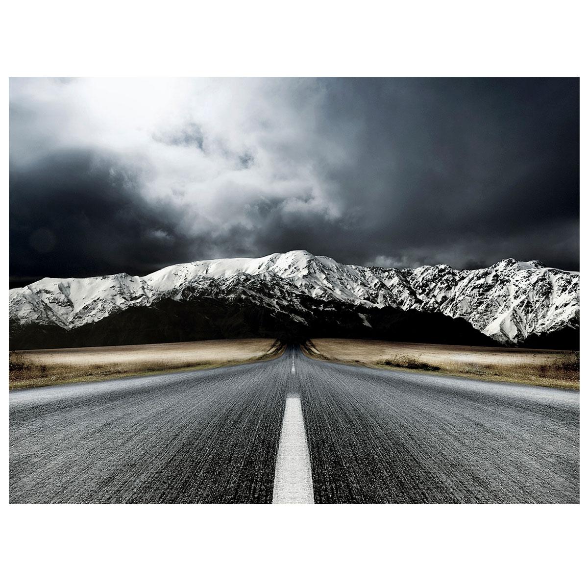Image of   Open road lærredstryk