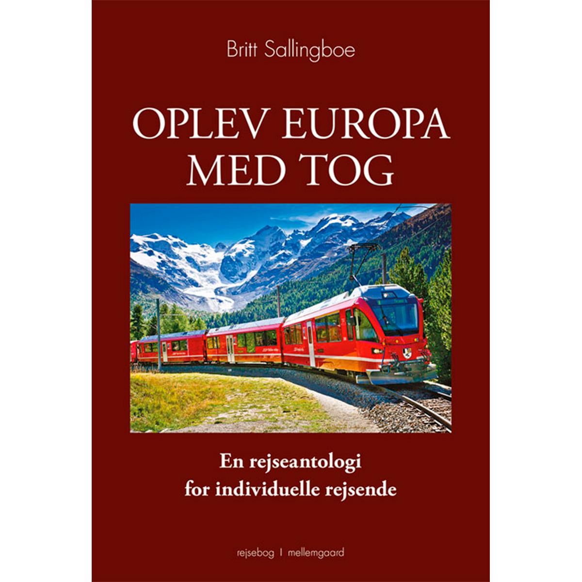 Image of   Oplev Europa med tog - Hæftet