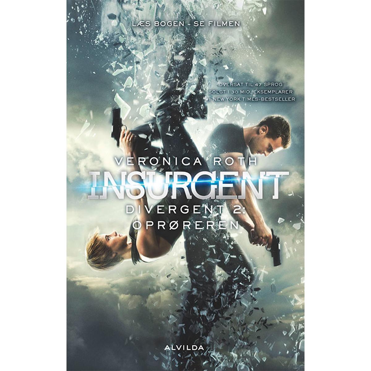 Image of   Oprøreren - Divergent 2 - Filmudgave - Indbundet