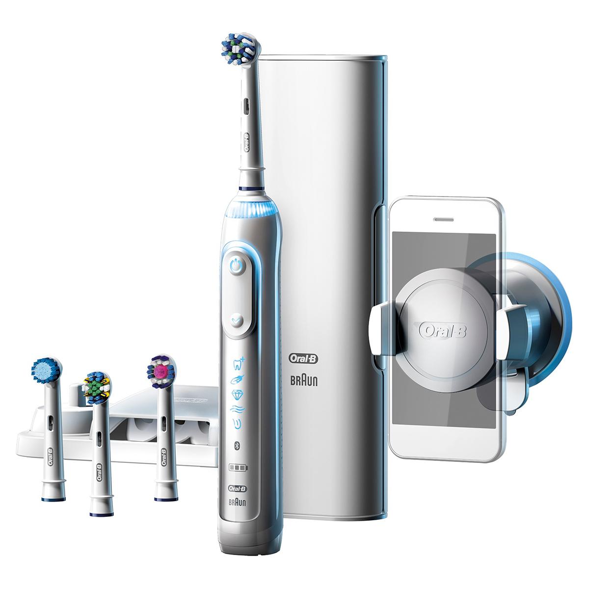 Billede af Oral-B eltandbørste - Genius 9000 - Hvid