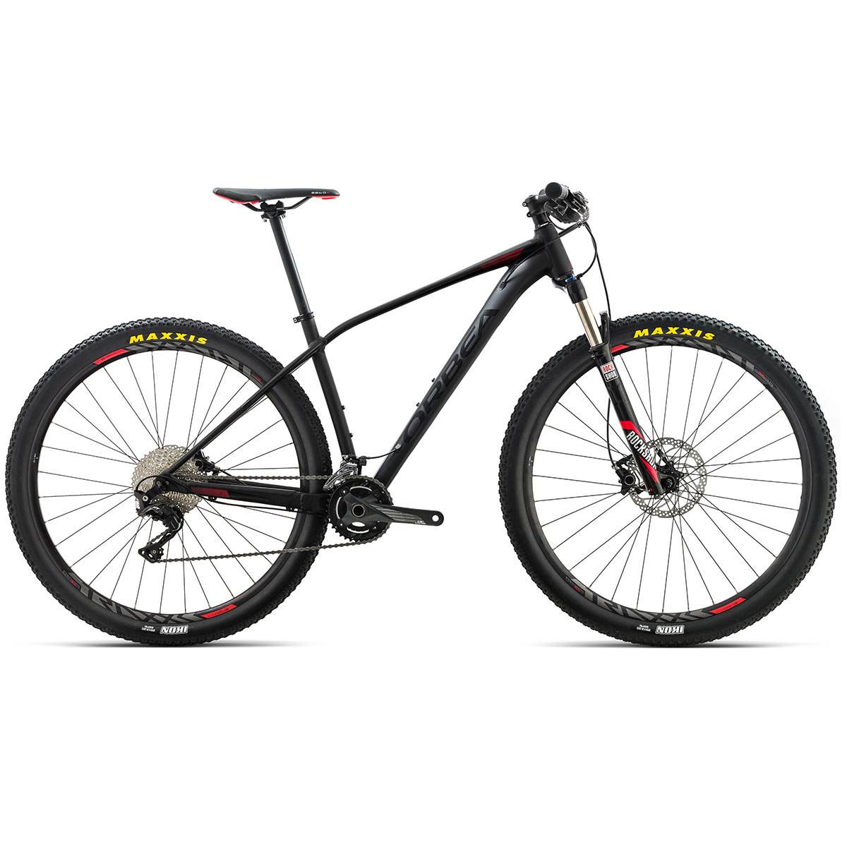 "Orbea Alma H30 27,5"" mountainbike med 20 gear - Sort"