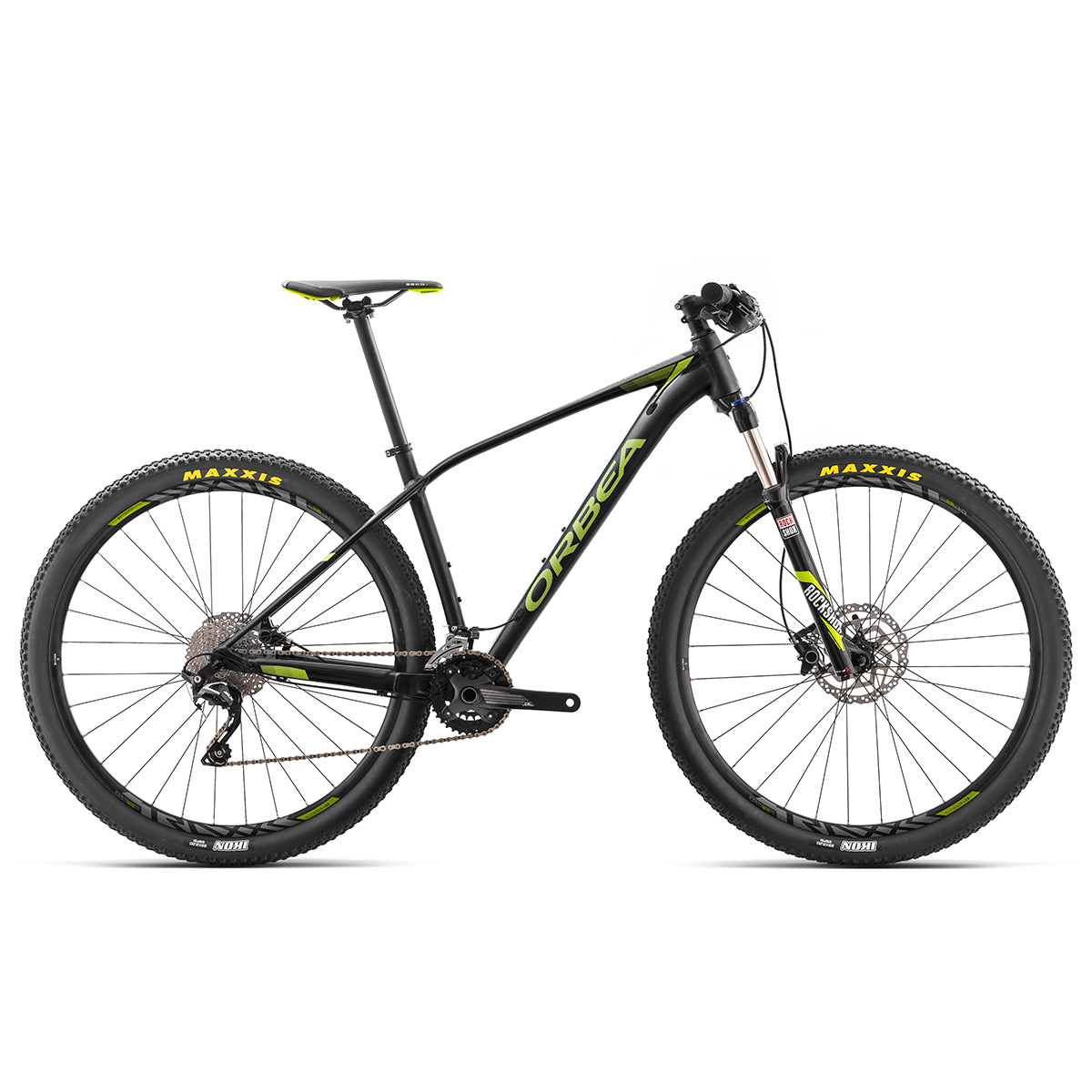 "Orbea Alma H50 27,5"" mountainbike med 20 gear - Sort/grøn"