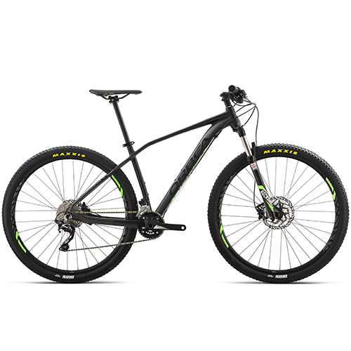 "Orbea Alma H50 27,5"" mountainbike med 20 gear - Sort/lime"