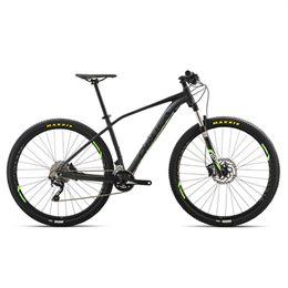 """Orbea Alma H50 29"""" mountainbike med 20 gear - Sort/lime"""