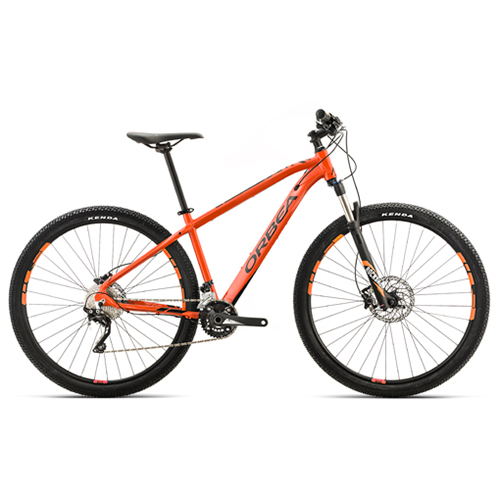 "Orbea MX10 27,5"" mountainbike med 20 gear - Sort/orange"
