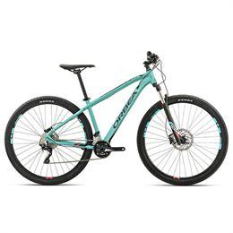 "Orbea MX10 29"" mountainbike med 20 gear - Jadegrøn/rød"