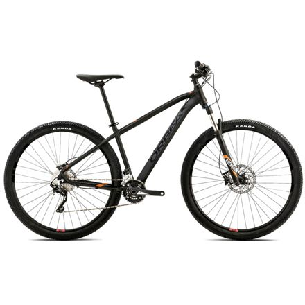 "Orbea MX10 29"" mountainbike med 20 gear - Sort MTB med fed Rock Shox-forgaffel med lockout"